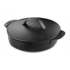 Weber Gourmet BBQ system - Weber LITINOVÝ HRNEC S POKLICÍ