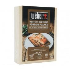 Udící prkénka z cedrového dřeva pro jednu porci Weber 4ks